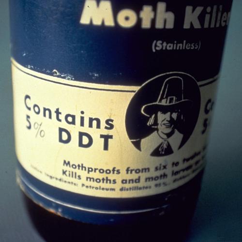 Контактный пестицид - ХОС – первые инсектициды контактного действия