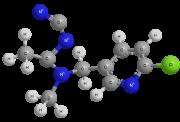 Овицид - Молекула Ацетомиприда