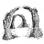 Поведение общественных насекомых - Построение арочных</p> сооружений термитами