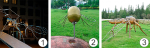 Комары - Памятники комару