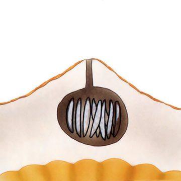 Муха средиземноморская плодовая - Личинка в коре апельсина. Использовано изображение: