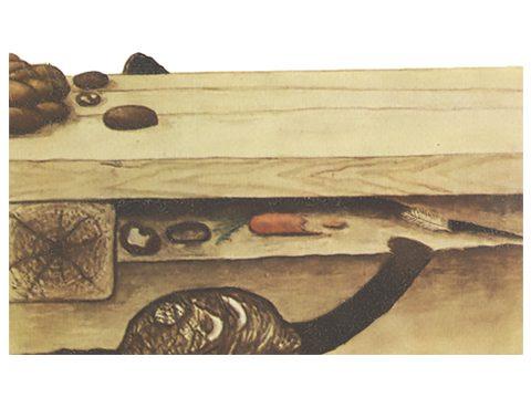 Крыса серая - Гнездо. Использовано изображение: